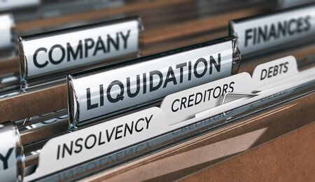 Administration or liquidation for Company or LLP Law firms - Plan C
