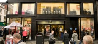 Scottish department store Watt Brothers enters administration